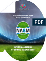 NASM Best Sports Management Institute