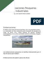 Embarcaciones Pesqueras Industriales