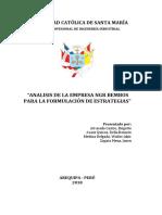 ANALISIS BEMBOS PARA LA FORMULACIÓN DE ESTRATEGIAS
