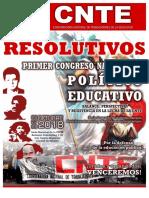Resolutivos Del Primer Congreso Nacional Político Educativo