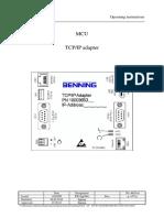 Manual Adaptador Tcp Ip Para Mcu