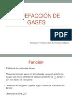 Licuefaccion de Gases