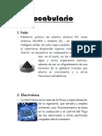 Vocabulario 5 Extra Points