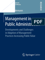 Management in Public Administration 2018