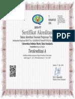 Akreditasi UNS 2018 2023