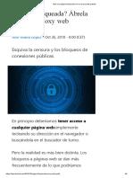 Abrir Una Página Bloqueada Con Un Proxy Web Gratuito