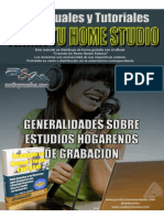 Home Studios Audio Recording