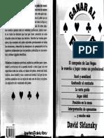 Ganar Al Poker - D. Sklansky by RayoBcn
