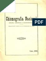 CHISMOGRAFIA NACIONAL