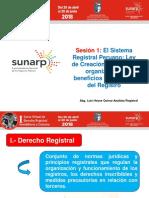 Sesion 1. Ppt El Sistema Registral Per