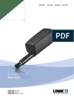 Linear Actuator La28 Data Sheet Eng