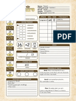 Pugmire Interactive Character Sheet (Revised)