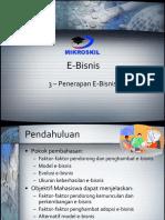 03 Penerapan e Bisnis