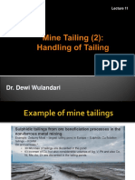 Mine Waste-Tailing