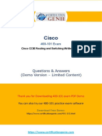 Do You Want To Pass 400-101 Cisco CCIE Routing & Switching Exam At The First Try