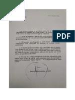 Carta  de Manuel Marchena