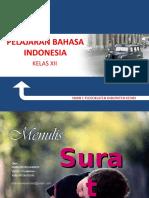 87398241 Power Point Materi Pelajaran Menulis Surat Bahasa Indonesia Smk