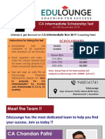 EduLounge - Scholarship Test