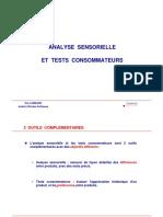 Analyse Sensorielle Et Test de Produit