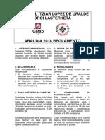 1 Reglamento Memorial Itziar 2018 -Rev. 1