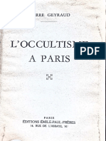 l Occultisme a Paris