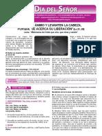 Hoja Dominical Del 01 DE ADVIENTO CICLOB