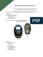 GUIA RAPIDA DE OPERACION DE EQUIPOS DE MONITOREO DE H2S.PDF