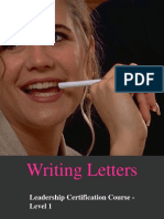 Writing Letters.PPT