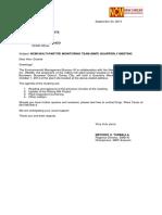 MMT Quarterly Meeting 29Sep2014