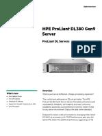 DL380G9-Datasheet