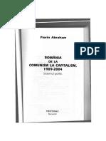 136067291 118669968 Florin Abraham Romania de La Comunism La Capitalism(1)