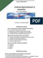 Managementul Aprovizionarii Tema 1-4