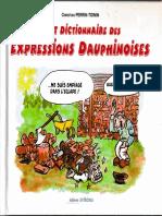Petit dictionnaire des expressions Dauphinoises