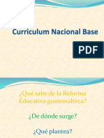 Curriculum Nacional Base/Descripción