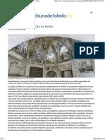 El Enigma de La Capilla de Belén - Cristo de La Luz - La Tribuna de Toledo