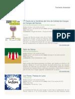 Eventos 14-10-2018 Turismo Asturias
