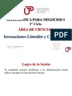 semana 4 sesión 1 - Inecuaciones lineales y cuadraticas PPT.pdf