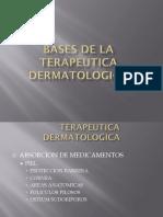 terapeutica dermatologica