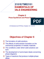 Chapter 6 Phase Equilibria
