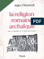 La religion romaine archaique - Georges Dumezil.pdf