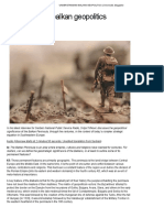 Understanding Balkan Geopolitics _ Chronicles Magazine
