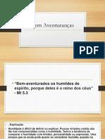Bem Aventuranças PPT