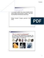 1 Intro Crystallography and Mineralogi Part 1 -Compatibility Mode