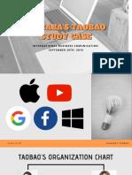 Alibaba's Taobao PT IBC