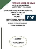 Vertederos y Aliviaderos (1)