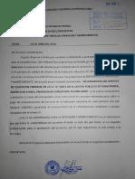 Carta de Operacion y Mantenimiento