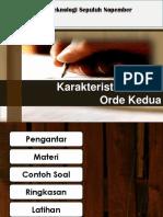 3.3 Karakteristik Sistem Orde Kedua .pptx