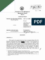 Pp v. Conception [Slight Illegal Detention]