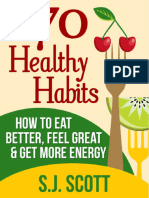 70 Healthy Habits How to Eat Better
