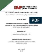 Desarrollo Economico Regional y Local en Peru
